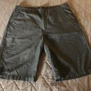 Micros Gray Size 34 Shorts